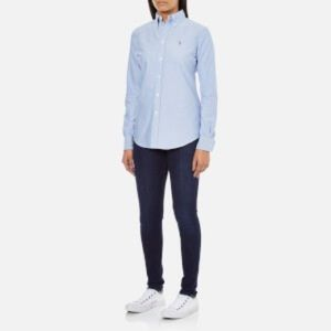 ralph lauren button down shirt womens polo ralph discount
